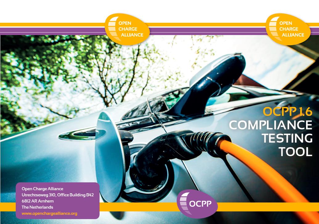 OCPP Testing Tool leaflet